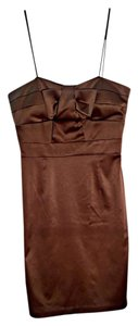 BCBG Paris Cocktail Brown Dress