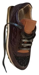 Brunello Cucinelli Black/Brown Athletic
