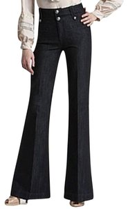 Rich & Skinny & Dark Wash Trouser Trouser/Wide Leg Jeans-Dark Rinse