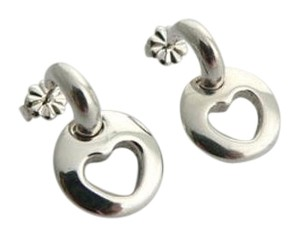 Tiffany & Co. Cut Out Heart Earrings