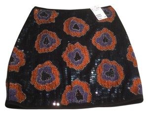 H&M Mini Skirt Navy blue