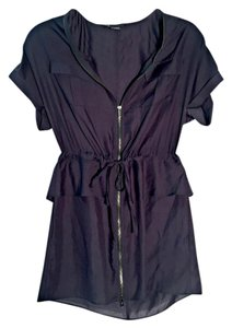 A|X Armani Exchange short dress Zip Up on Tradesy