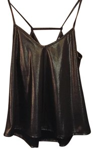 H&M Top Black and gold