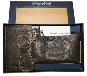 Dooney & Bourke Leather Boxed 3pc Gift Set