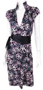 Diane von Furstenberg Wrap Silk Floral Dvf Dress