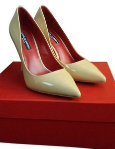 Charles Jourdan Nude Pumps