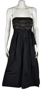 Lida Baday Womens Floral Lace Formal Sleeveless Sheath Dress