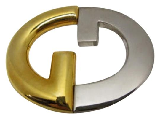 Preload https://item5.tradesy.com/images/gucci-goldsilver-two-tone-goldsilver-gg-logo-buckle-belt-1816319-0-0.jpg?width=440&height=440