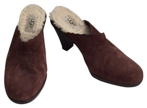 UGG Australia Oxford Brown Mules