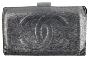 Chanel Caviar CC Long Wallet CCTL02