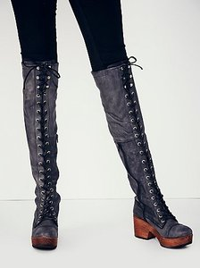 Free People Cayd Boots Size 39 Euro (8.5 -9) Sold Out At Fp Store Mules