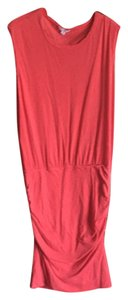 James Perse short dress Red on Tradesy