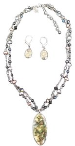 Cookie Lee Necklace Earring Set
