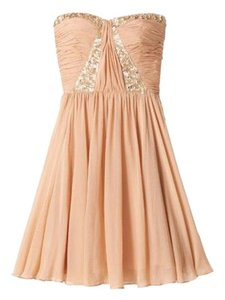 Rebecca Taylor Sweetheart Strapless Sequin Dress