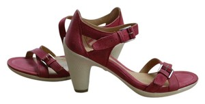 Ecco Red Heel New In Box Red, Wine Pumps