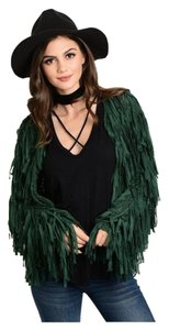 Other Fringe Boho Hippie Free People Festival Cardigan