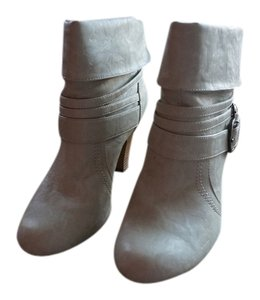 Style & Co Mid 7.5 cream Boots