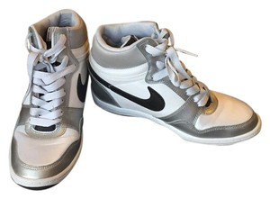 Nike White and silver Athletic