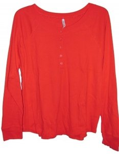 White Stag Button Down Shirt Red