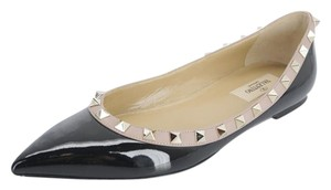 Valentino 6072720161 New With Defects Ballet Black Flats