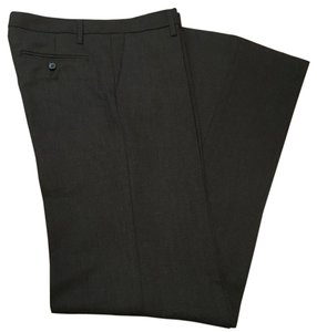 Zara Straight Pants Dark Gray