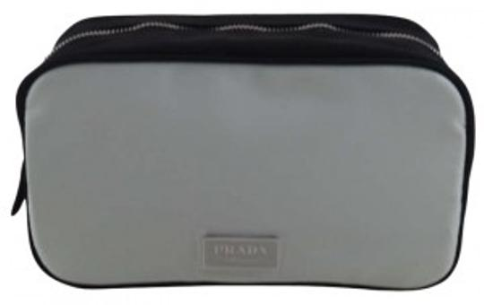 Preload https://item2.tradesy.com/images/prada-mint-green-and-black-textile-pouch-cosmetic-bag-181716-0-0.jpg?width=440&height=440