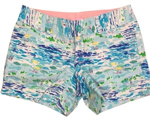 Lilly Pulitzer Mini/Short Shorts High Tide Toile