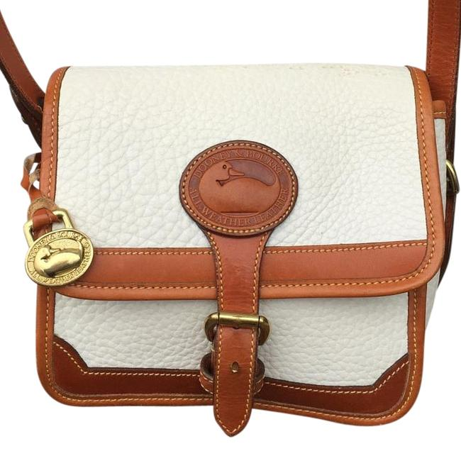 Item - Authn. And Bone White Leather Cross Body Bag
