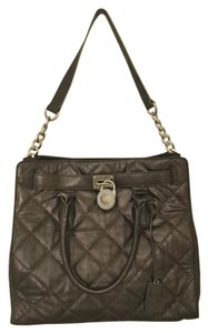 Michael Kors Satchel in Pewter