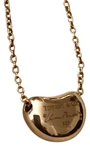 Tiffany & Co. Elsa Paretti Bean Tiffany Necklace