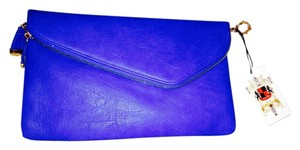 Urban Expressions Blue Clutch