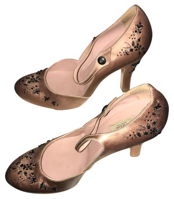 Item - Blush Ankle Strap Evening Formal Shoes Size US 5.5 Regular (M, B)