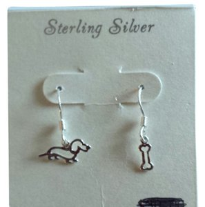 Other Dachshund Earrings/Sterling Silver/NWT