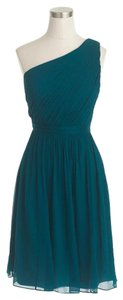 J.Crew One Wedding Silk Chiffon Green Dress