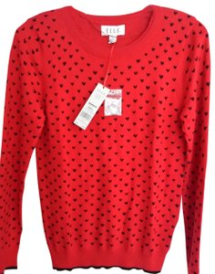 Elle Nwt Can Be Work Or Casual Valentines Day Sweater! Sweater