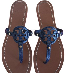 b1c3a190d Blue Tory Burch Sandals - Up to 90% off at Tradesy