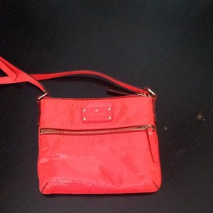 Kate Spade Satchel in Neon Orange