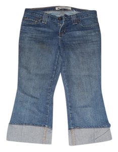 Gap Casual Cuffs Slouch Boyfriend Cut Jeans-Light Wash