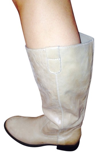 Kenneth Cole Nude/ pale tan Boots