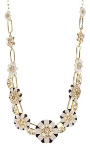 Kate Spade kate spade new york(R) Gold-Tone Shadow Blossoms Statement Necklace