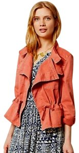 Anthropologie Pink Cotton Casual Jacket