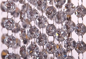100 Feet Of Sparkly Glass Crystal Garland Hanging Glass Crystals Wholesale