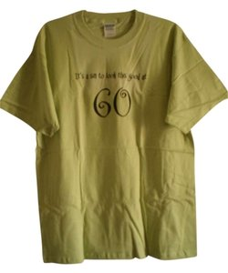 Gildan T Shirt green