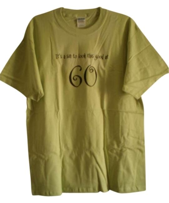 Preload https://item3.tradesy.com/images/gildan-green-new-it-s-a-sin-to-look-this-good-at-60-tee-shirt-size-14-l-181767-0-0.jpg?width=400&height=650