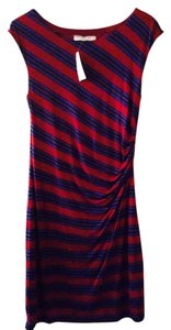 Ann Taylor LOFT short dress Wine on Tradesy