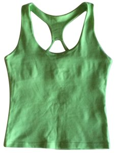 Square Fit Square Fit Lime Green Workout Top
