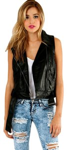 BB Dakota Asymetric Zip Belt Moto Vest