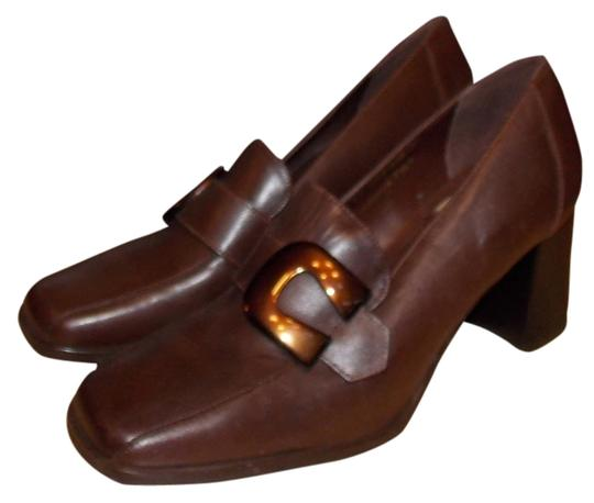 Bruno Valenti Brown Pumps