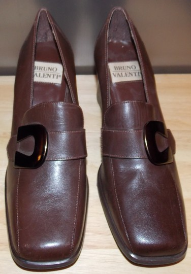 Bruno Valenti Brown Pumps Image 1