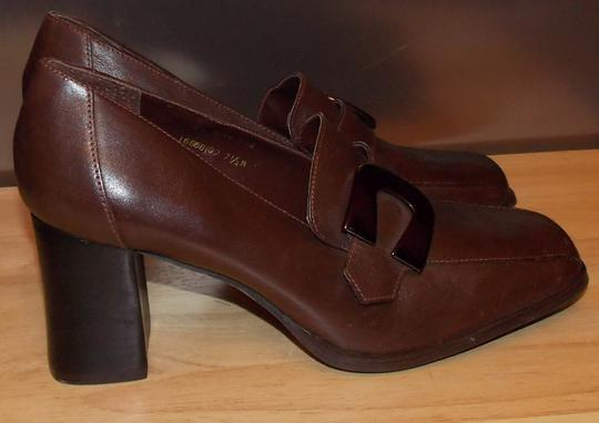 Bruno Valenti Brown Pumps Image 2